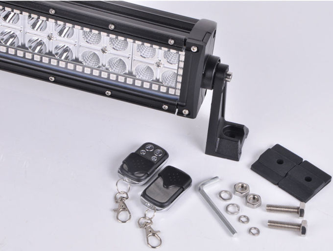 288WRGB Halo 50' Off Road LED Light Bar for Straight Black Housing Spot / Flood / Combo