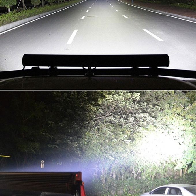 6000K Dual Row Car Light Bar / Aluminum Housing LED Auto Light Bar