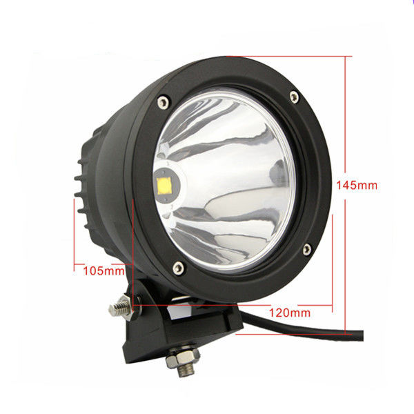 25W Cree Spot Beam LED Driving Lights For Auto Parts Cars ATV Spot Beam 120 * 110 Mm