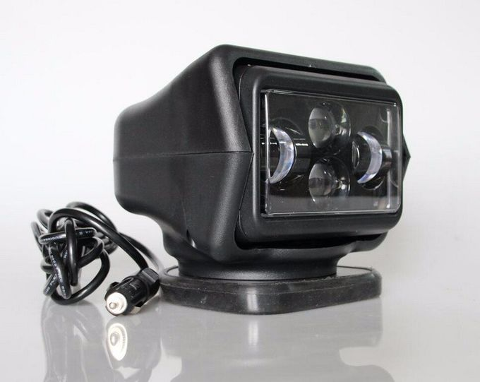 Rotating Wireless 60 Watt 7 inch LED Search Light For Off Road Truck 12v / 24v