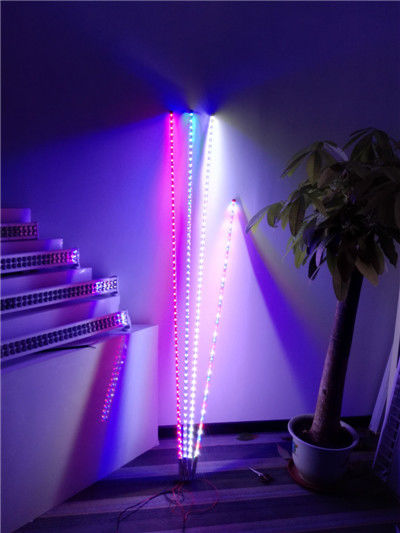Fiber Optic Color Changing Led Whip With Remote Control Milk Tube Look Like