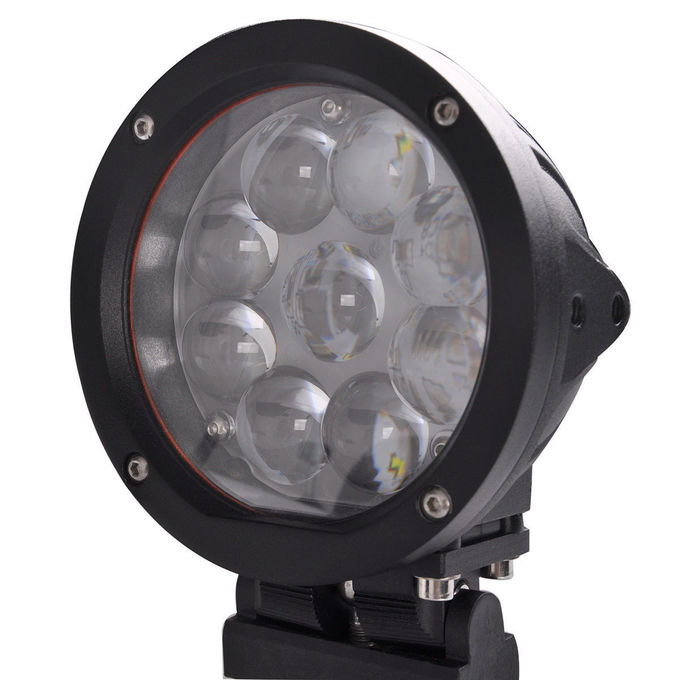 5.5 inch Round 45W CREE LED Work Light  Jeep truck driving lamps for Off-Road SUV ATV 4WD 4X4