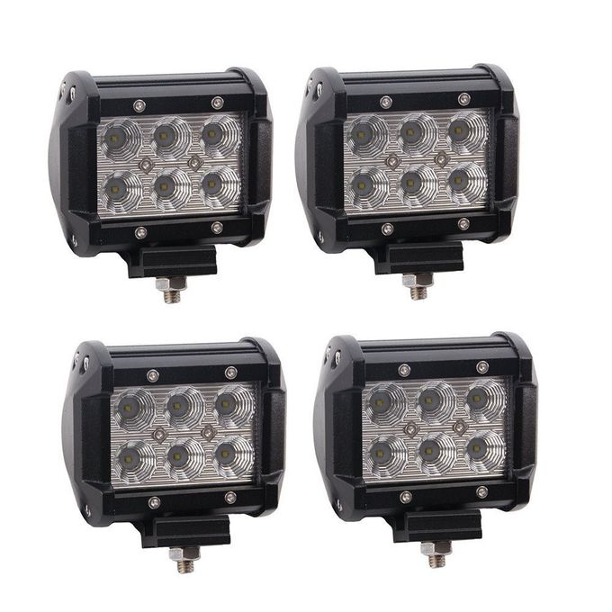 Cars Auto Parts LED Mini Flood Work Light Bar IP68 LED Offroad Light Bar Fog Lights