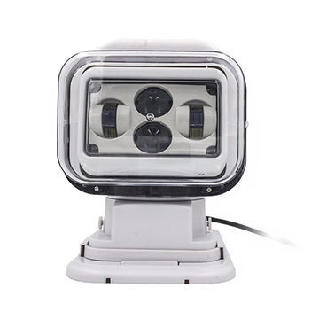 60W 7 inch With remote control & a car cigarette lighter  Search Light with 30 degree spot beam for Off road