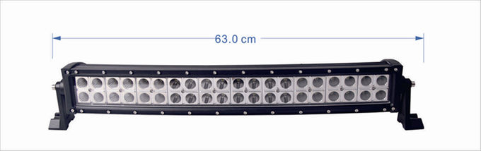 20 Inch 120W  Epistar  Led Curved  Double Row Light bar with Spot/ Flood/ Combo beam waterproof for  ATVS, truck, car