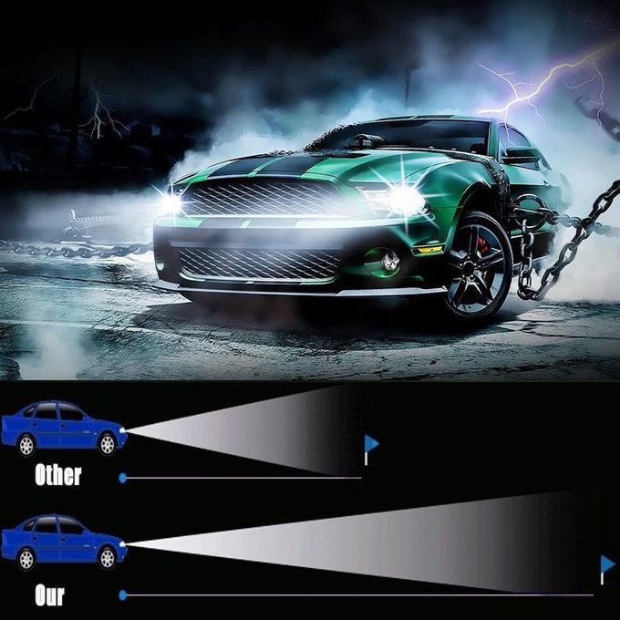 30watt Cree chips LED headlight with High/Low Beam double light 3200lumens for automotive car