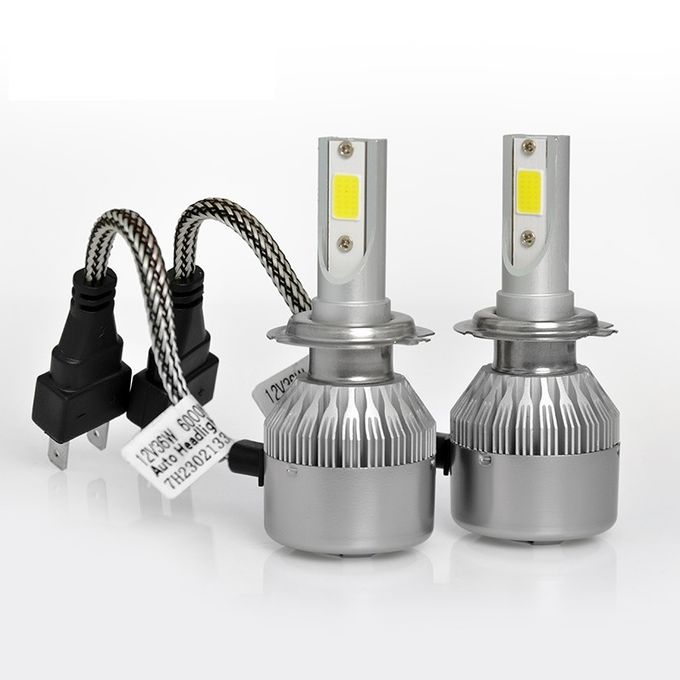 High Bright Car LED Headlight Bulbs C6 Best Car LED Lighting H4 H7 H11 Viewing Angle 360°