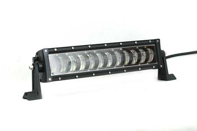 Waterproof Offroad LED Working Light Bar Toughed  Glass Lens Material With Diecast Aluminum Housing