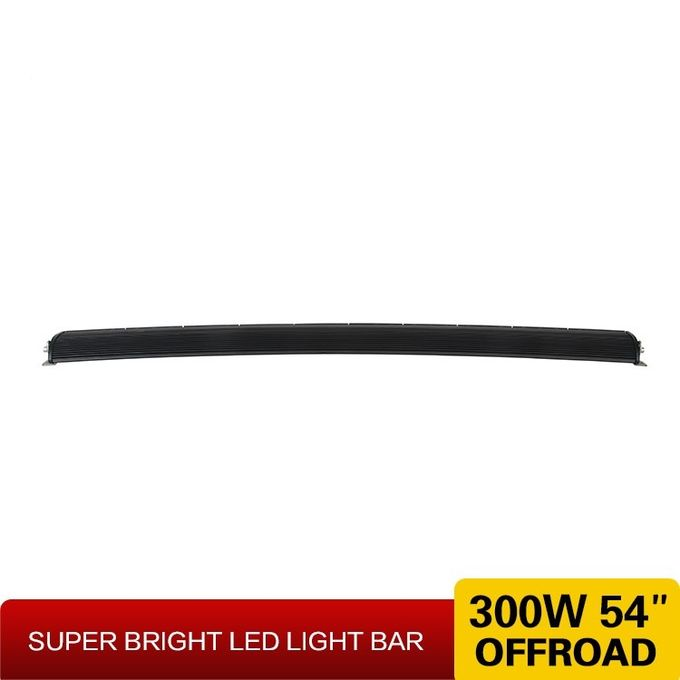 Hanka Superior Quality Single Row 10W CREE Curved Version IP67 Off Road Led Light Bar For Car