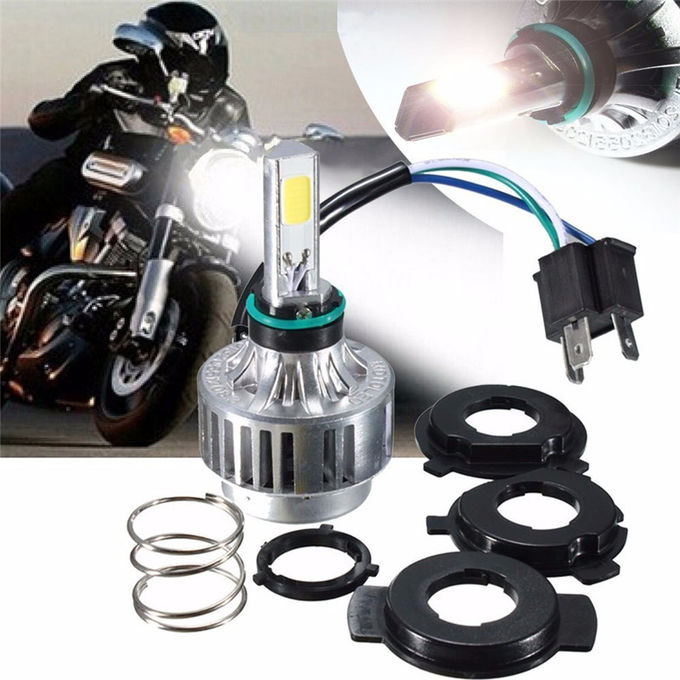 Motorcycle / Electric Bicycle Led Headlight Bulbs Scope 32W 3000LM With Transformer