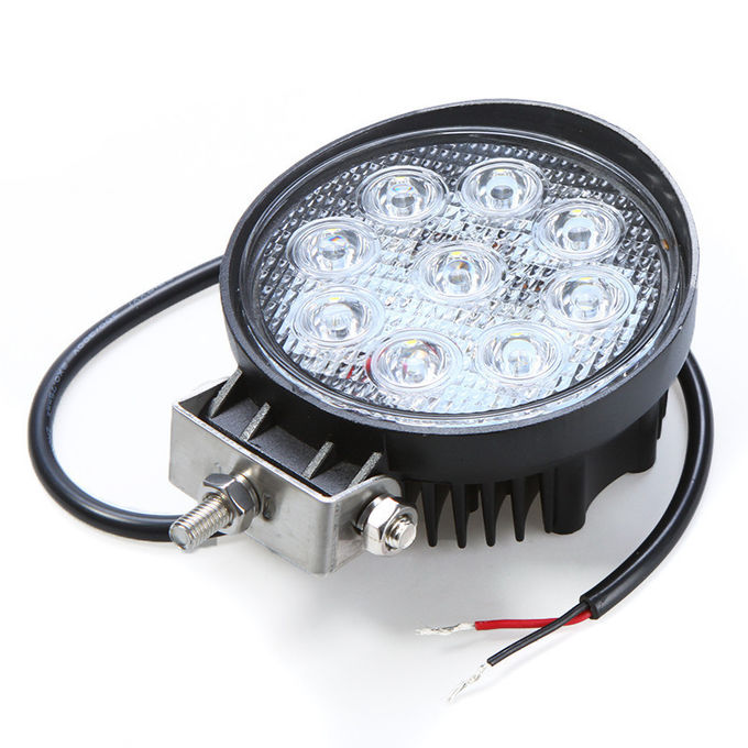 27W Epistar Chip 1800LM LED Vehicle Work Light Flood / Spot Beam for Off - Road Truck